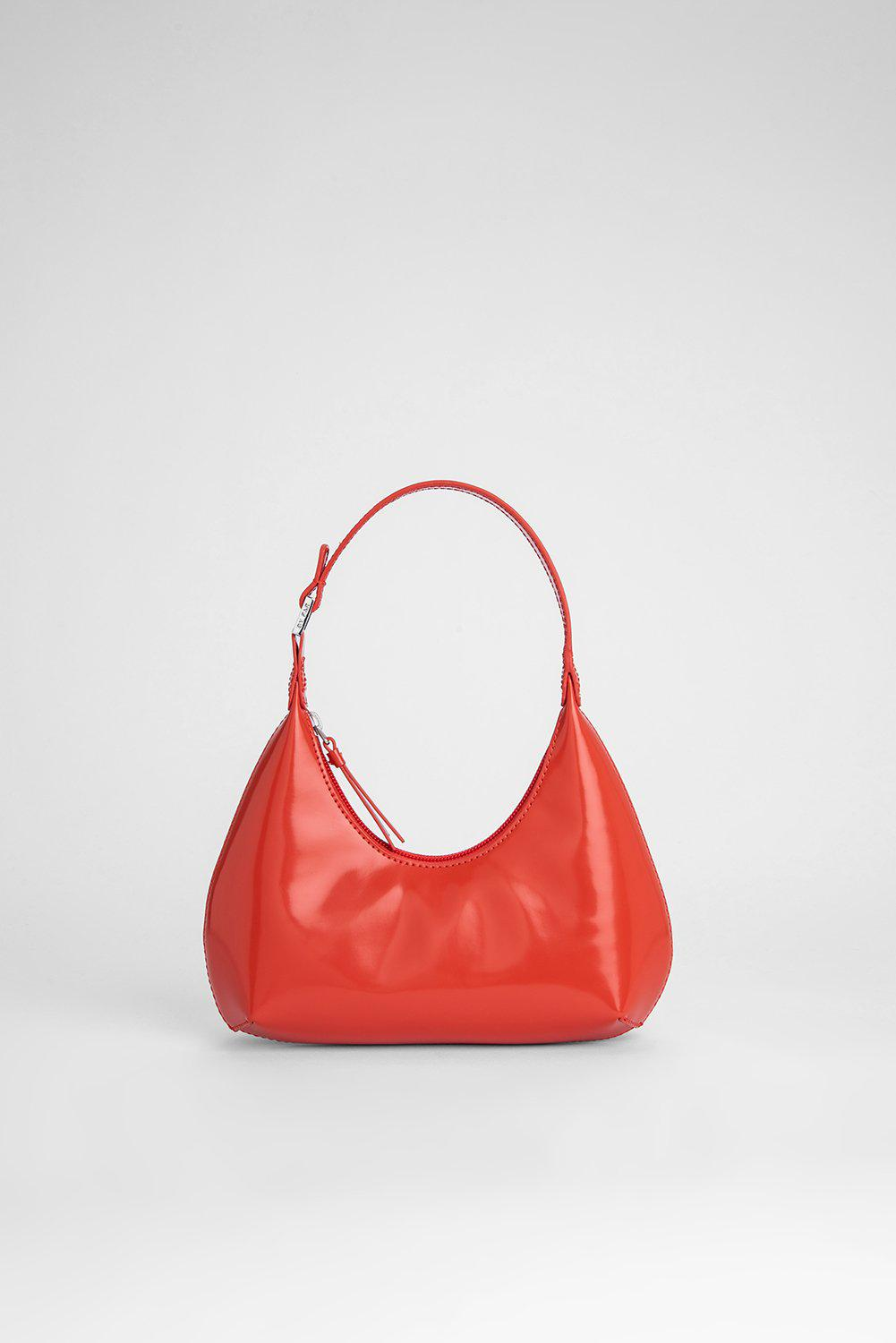 Baby Amber Scarlet Semi Patent Leather
