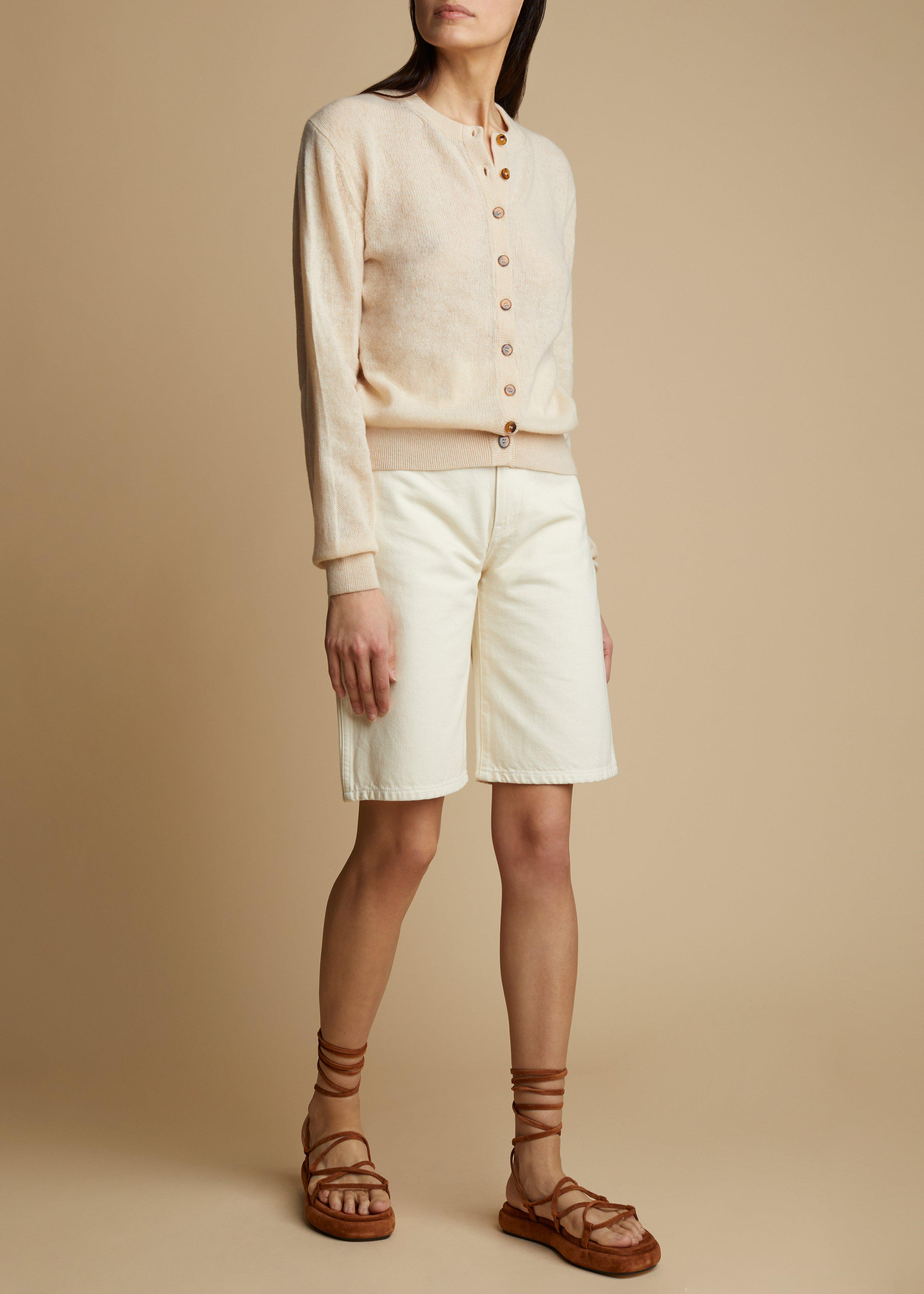 The Mitch Short in Ivory