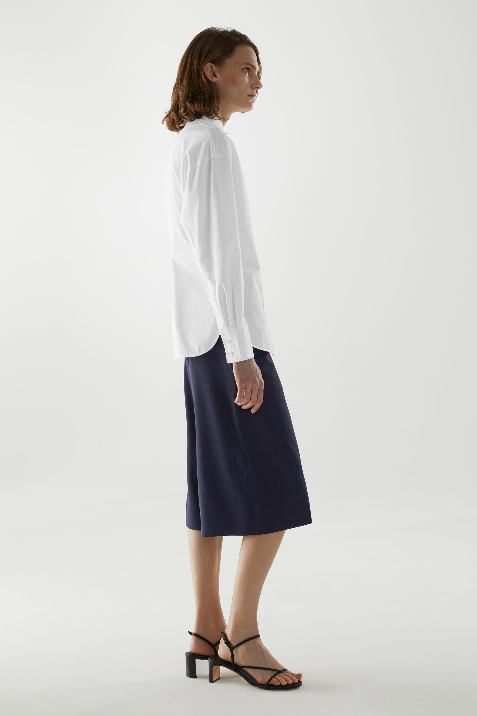 ORGANIC COTTON FITTED SHIRT 2