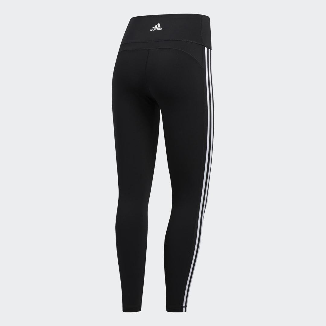 Believe This 2.0 3-Stripes 7/8 Tights Black 6