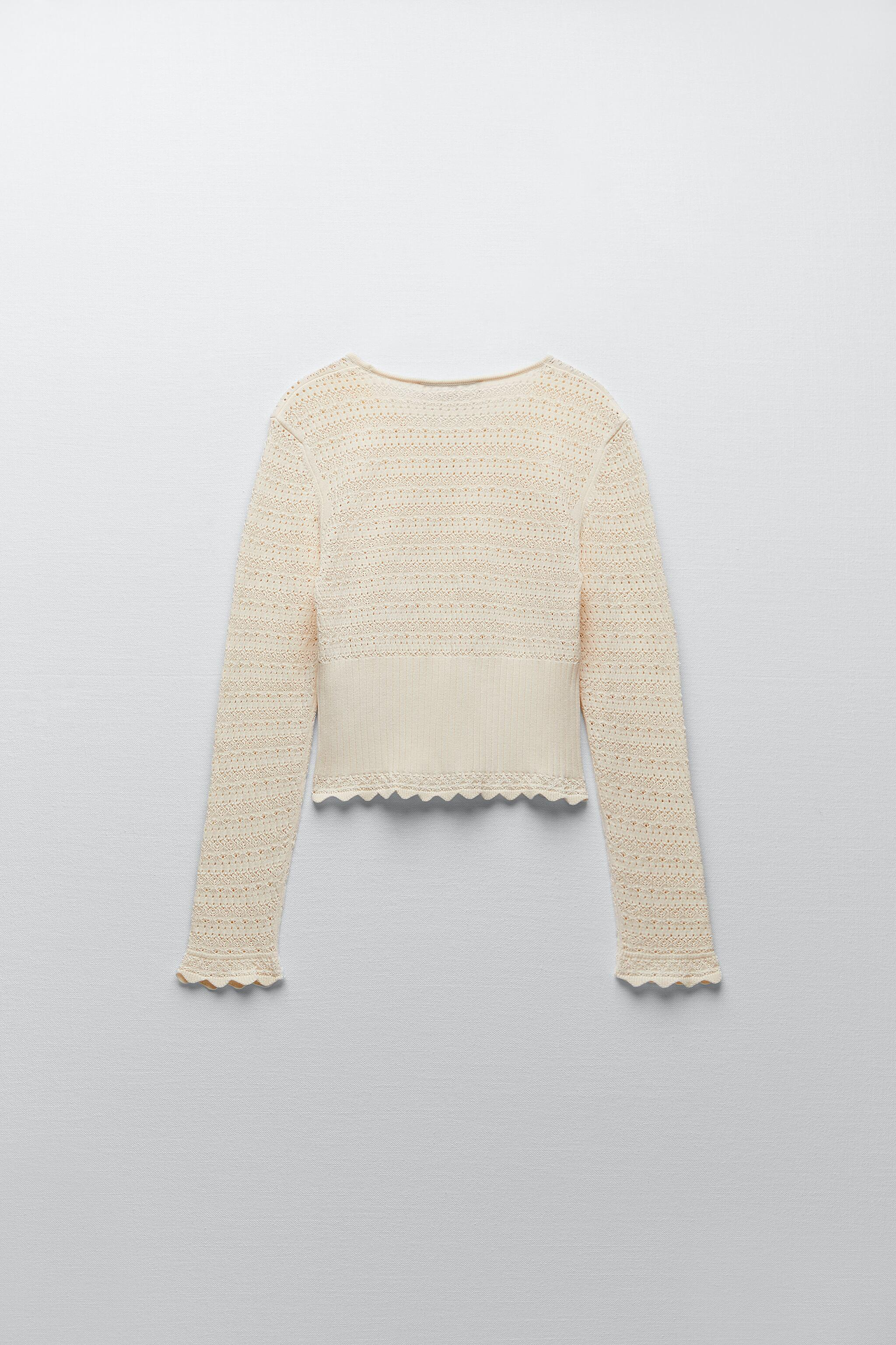 POINTELLE KNIT TOP 4
