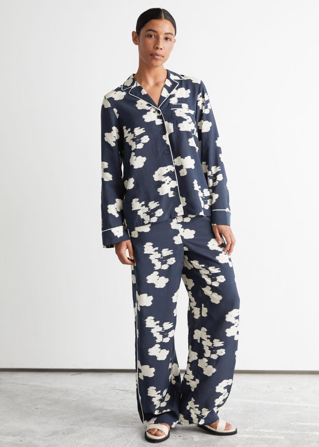Relaxed Printed Trousers