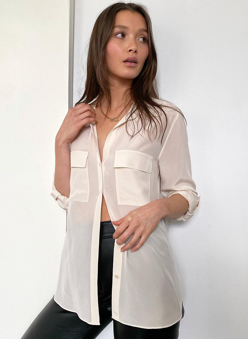 New Utility Silk Button-Up 1
