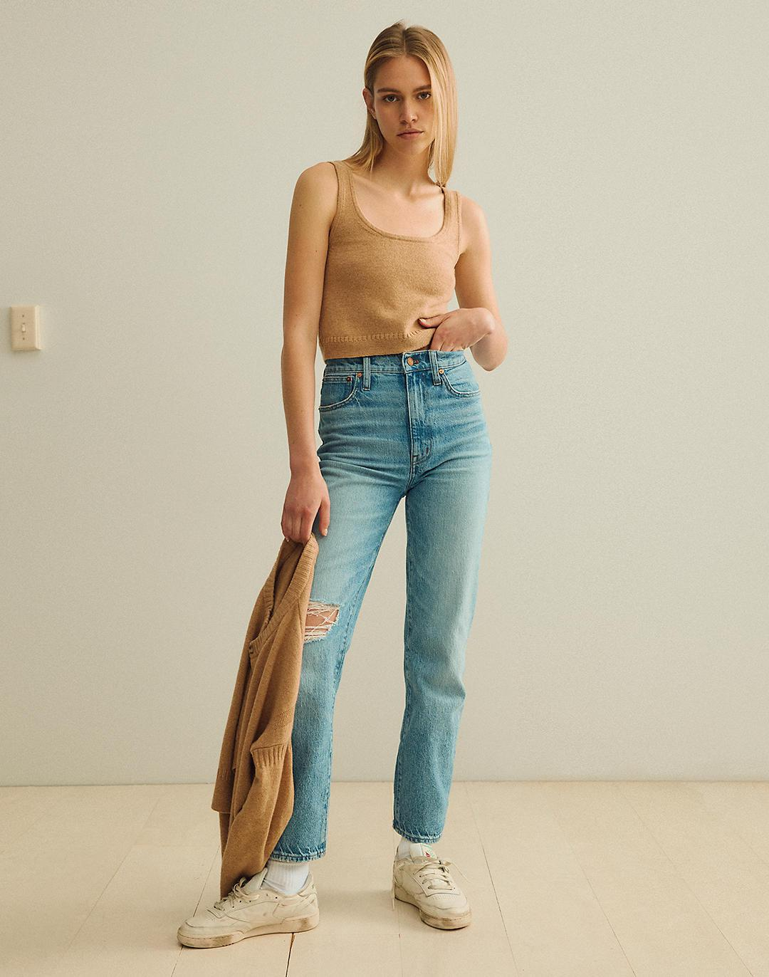The Tall Perfect Vintage Straight Jean in Reinhart Wash