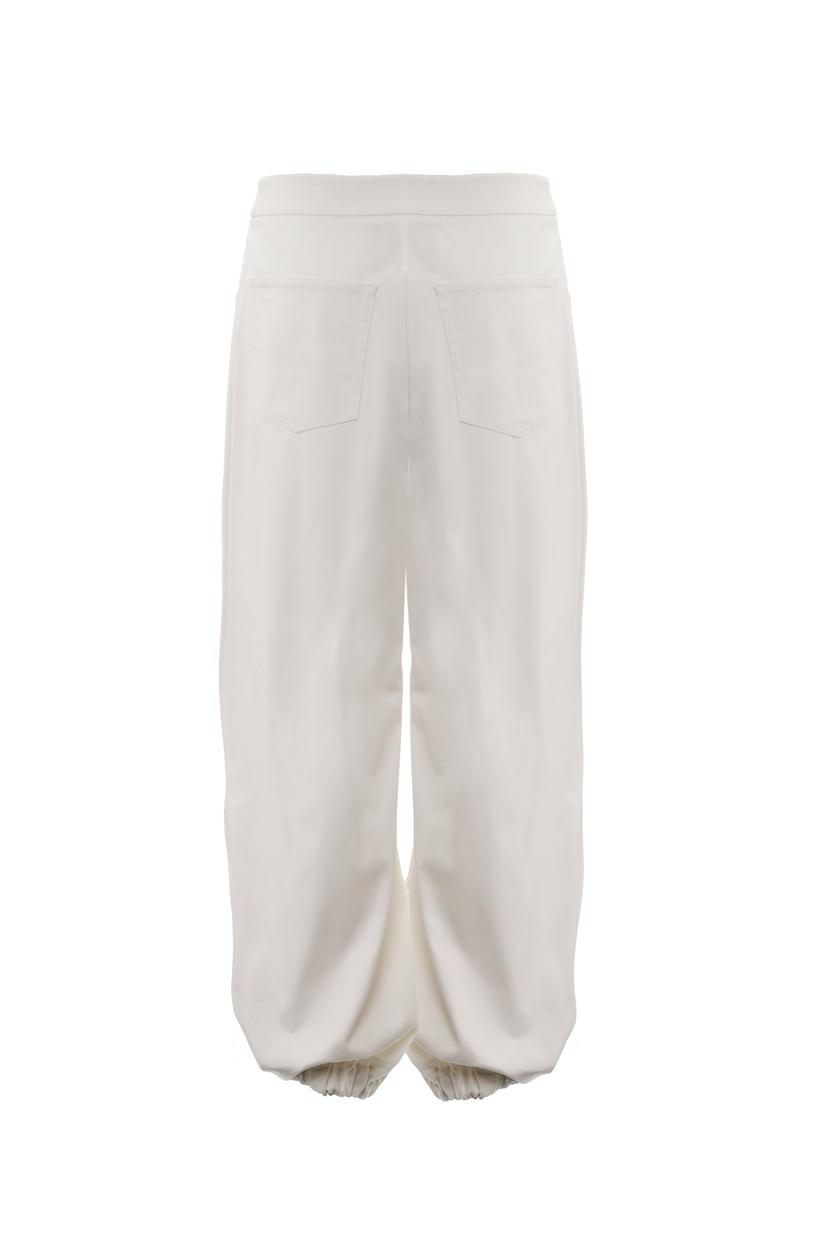 Drawcord Trousers (Ivory) 3