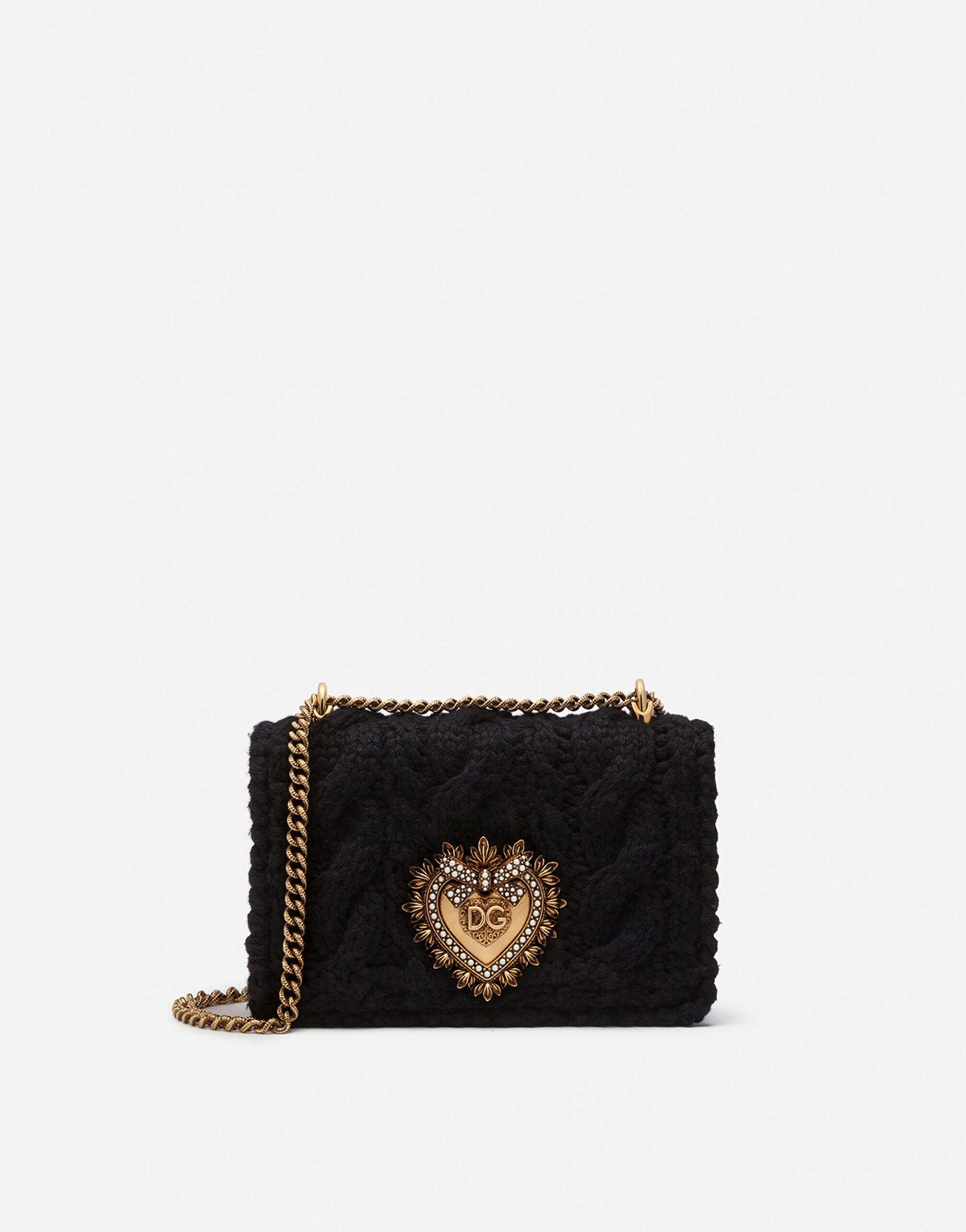 Medium Devotion bag in wool and cashmere