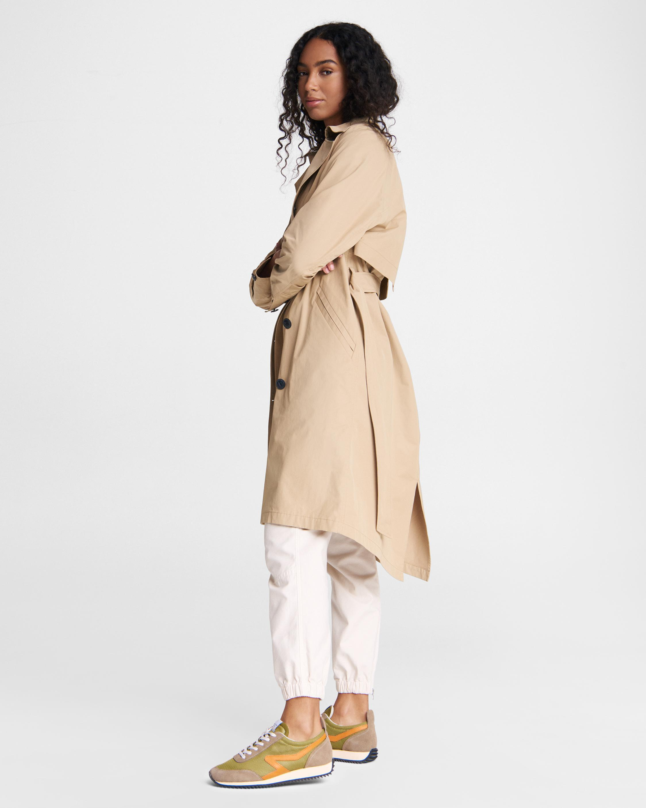 Classic cotton blend trench 2