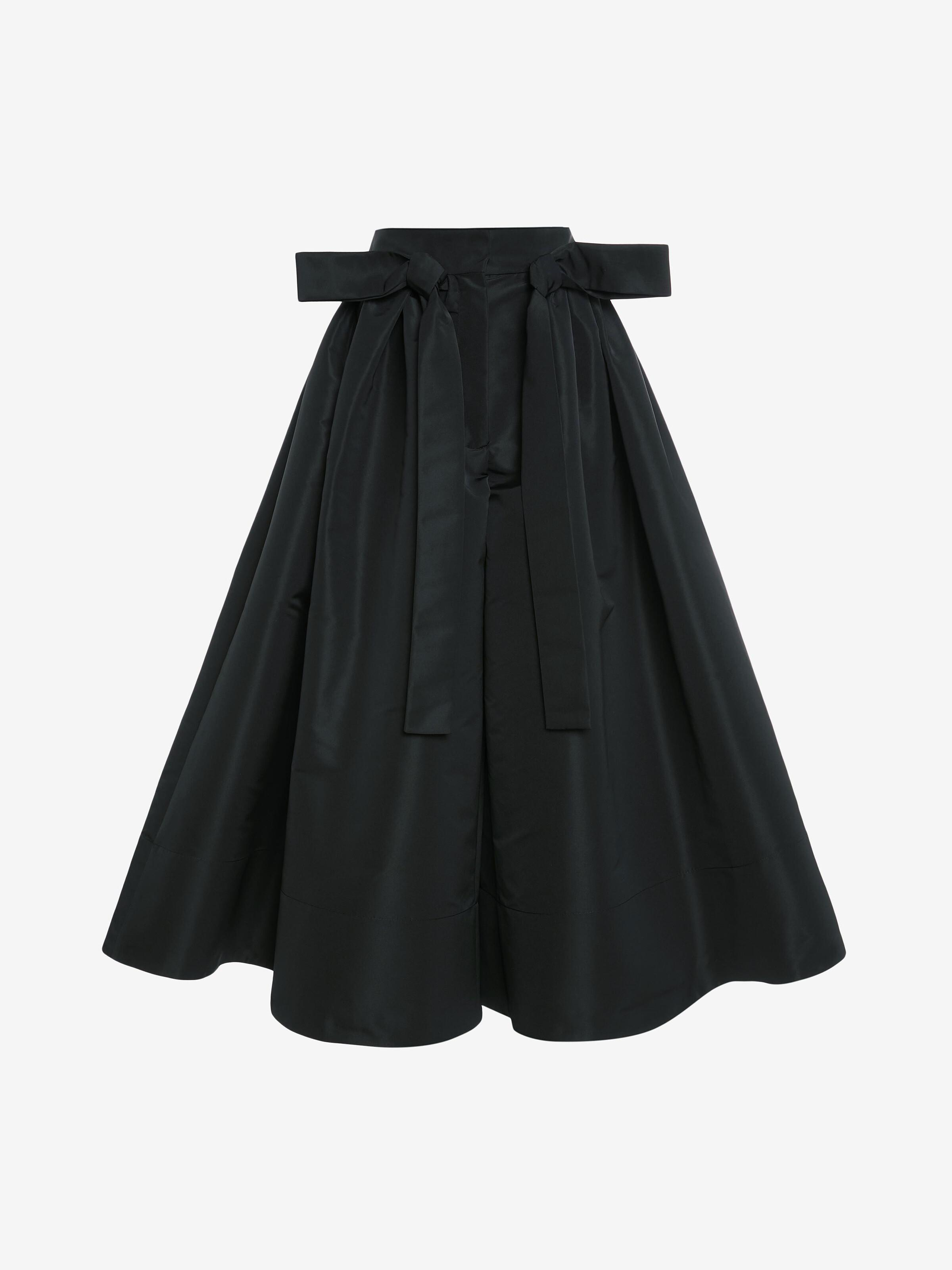 Exploded Ribbon Tie Culottes 3