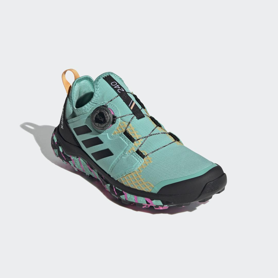 Terrex Agravic BOA® Trail Running Shoes Acid Mint 7 - Womens Trail Running Shoes