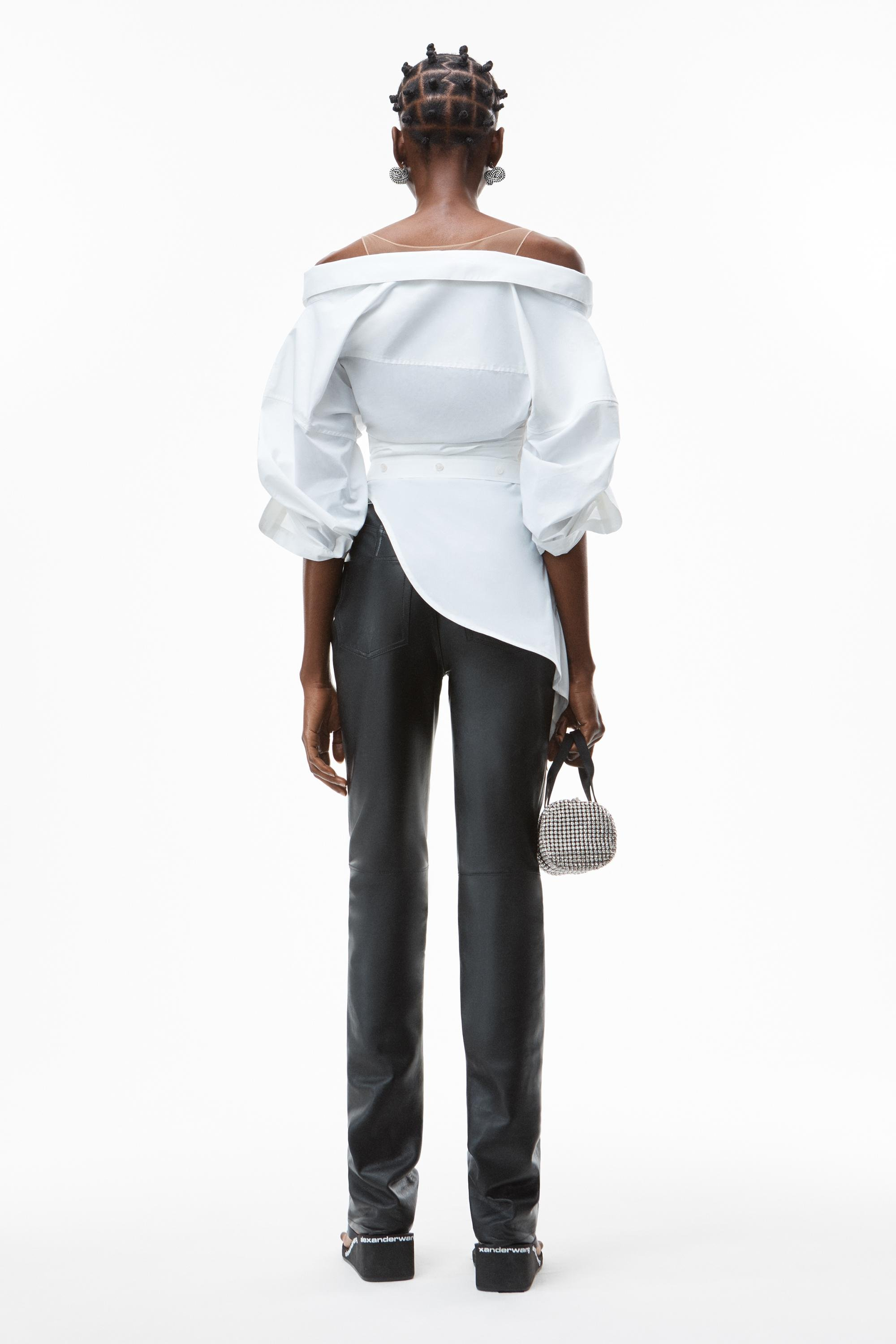 deconstructed top in crushed cotton 3