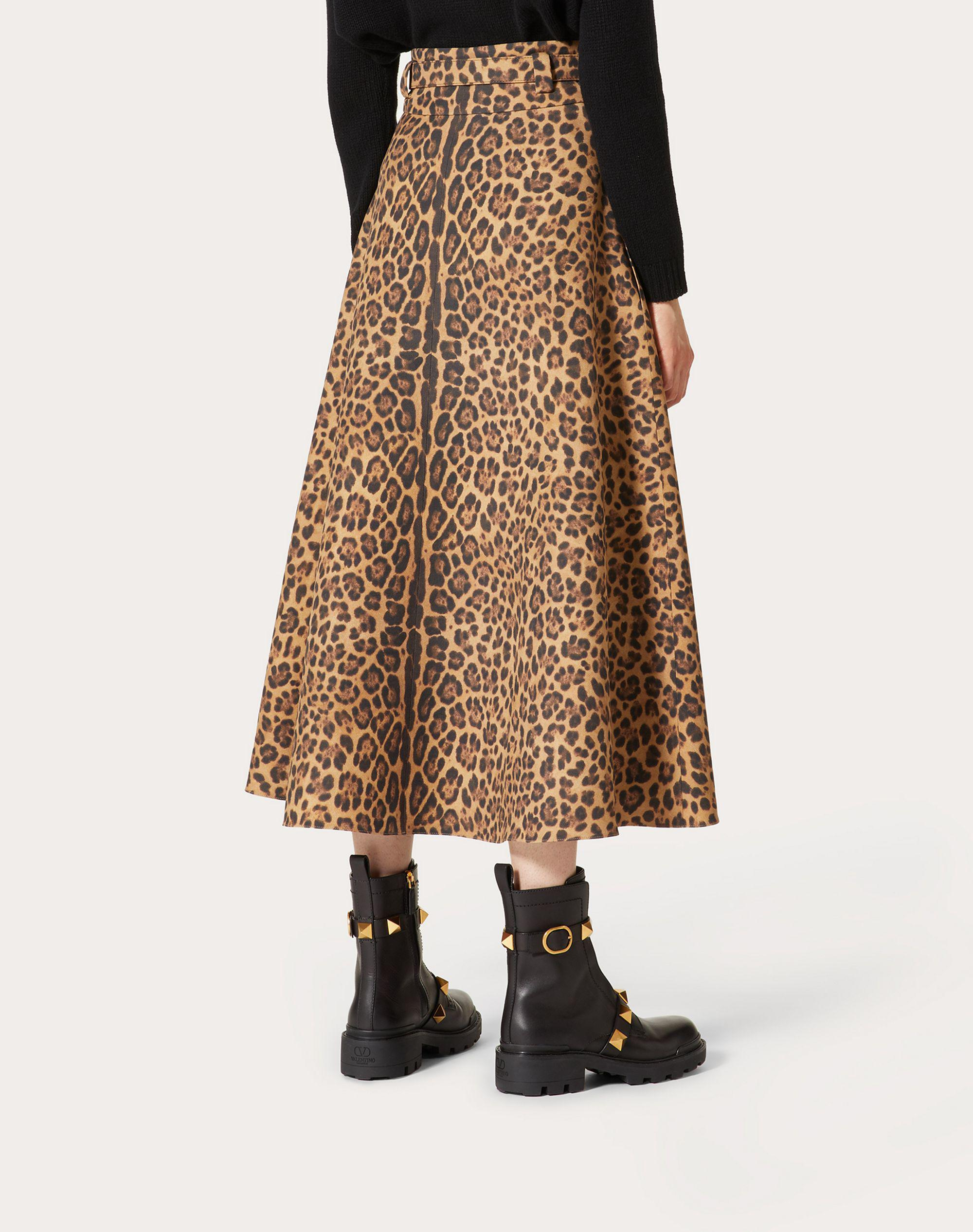 PRINTED CREPE COUTURE SKIRT 2
