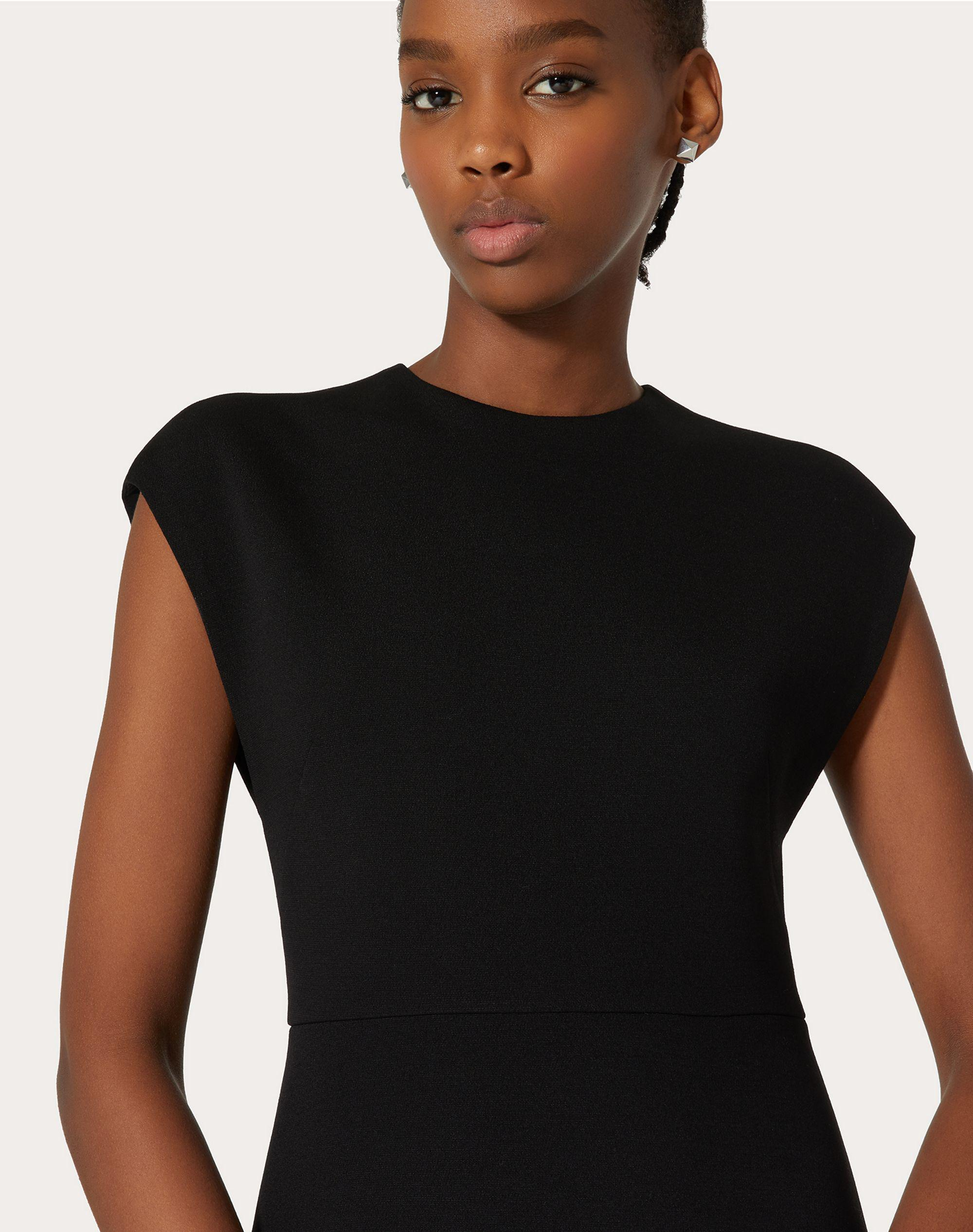 STRETCH CREPE COUTURE DRESS 3