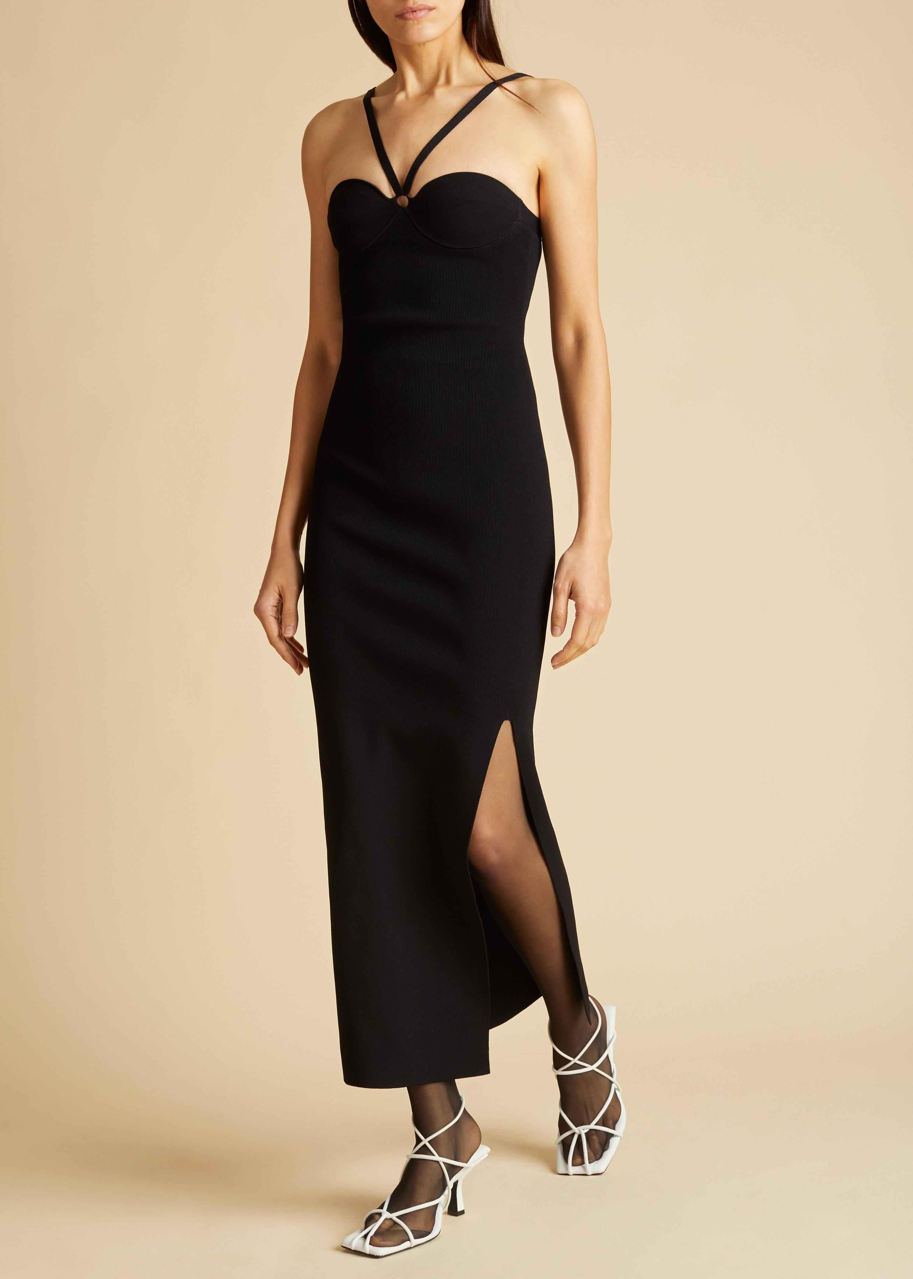 The Mayra Dress in Black