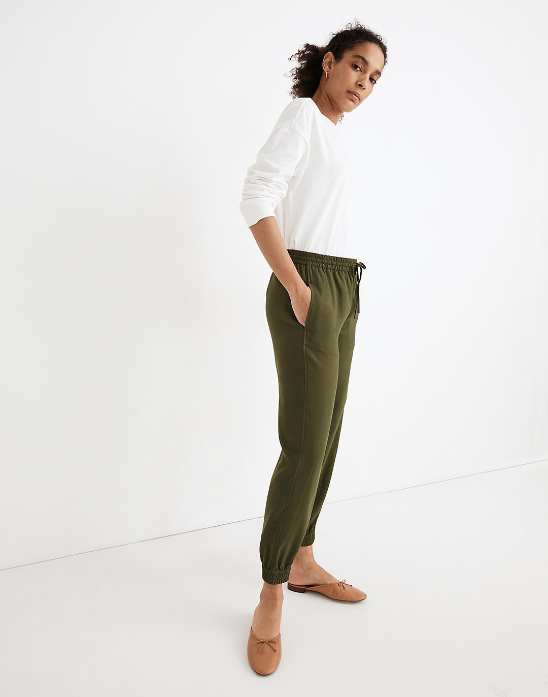 Drawstring Track Trousers 1