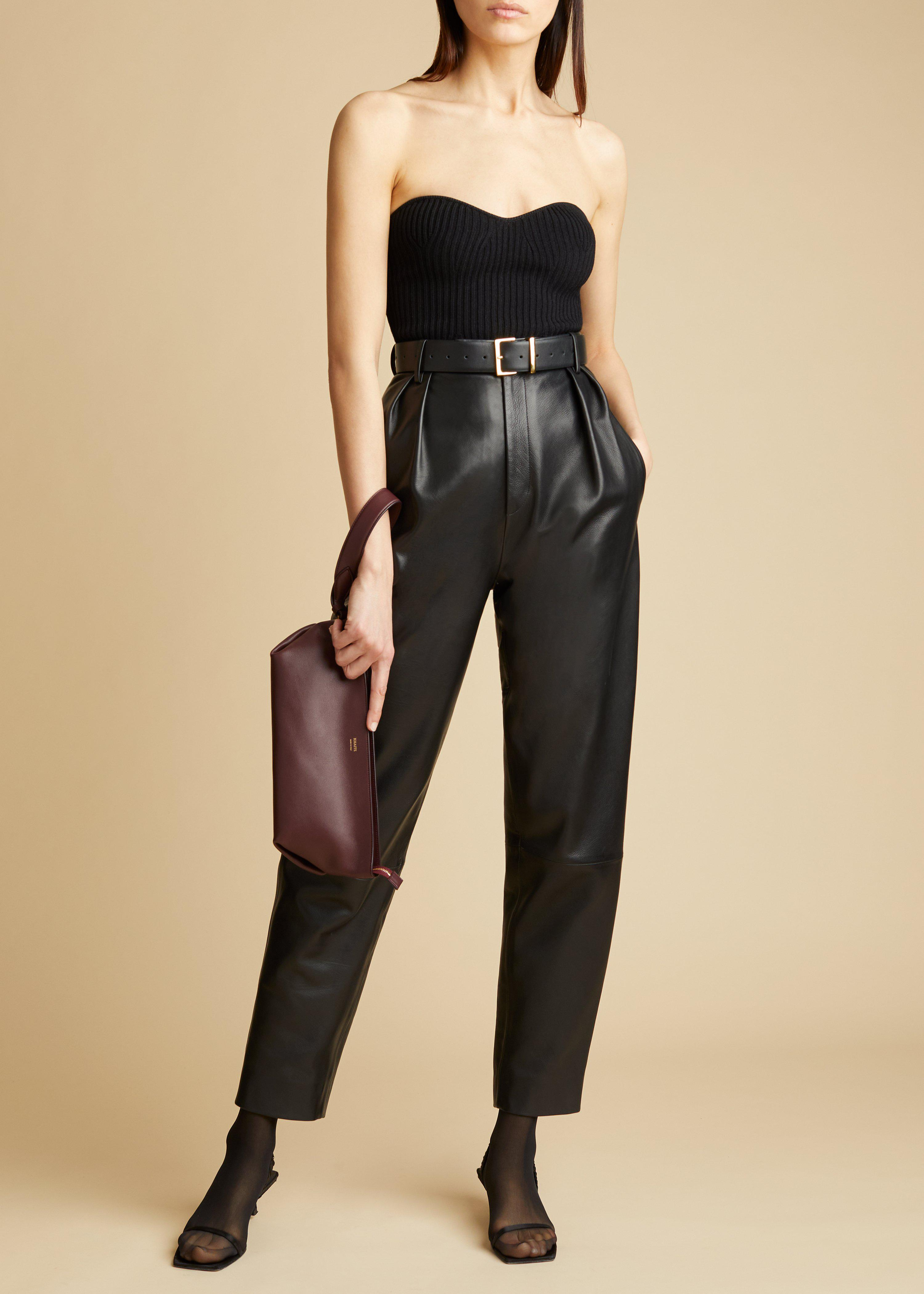 The Lucie Top in Black 1