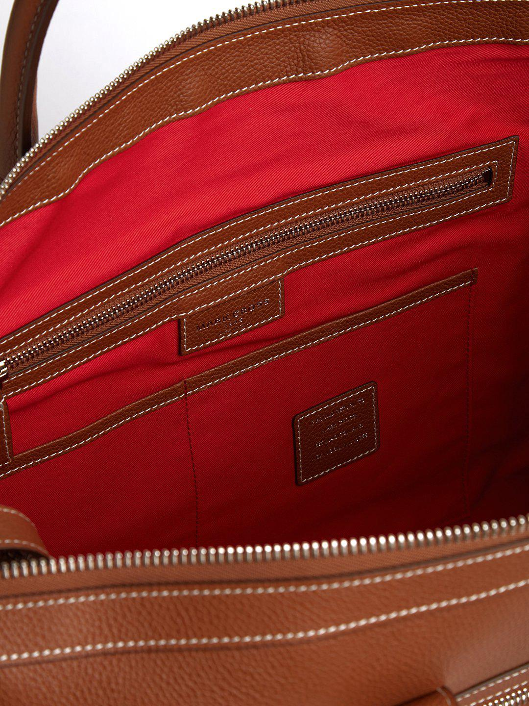 Mick Holdall Leather Duffle Bag 7
