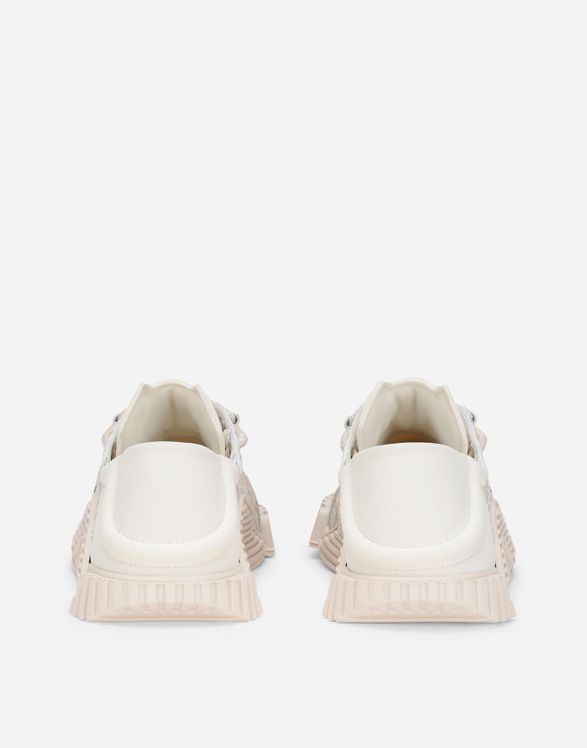 Mixed-materials NS1 slip-on sneakers 2