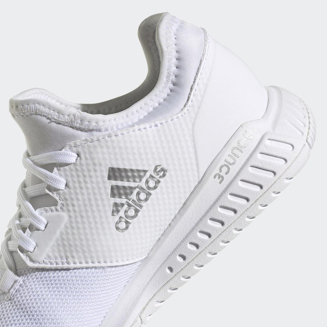 Court Team Bounce Indoor Shoes White 3
