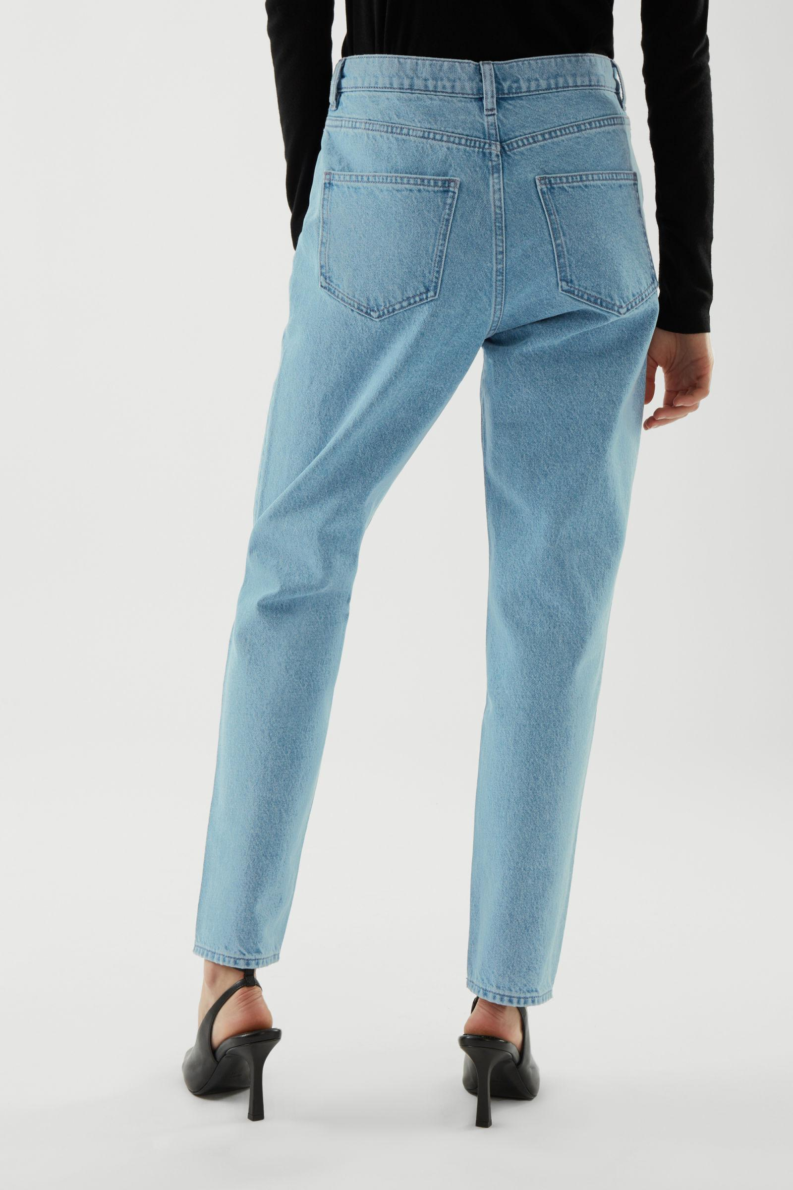 CROPPED STRAIGHT JEANS 4