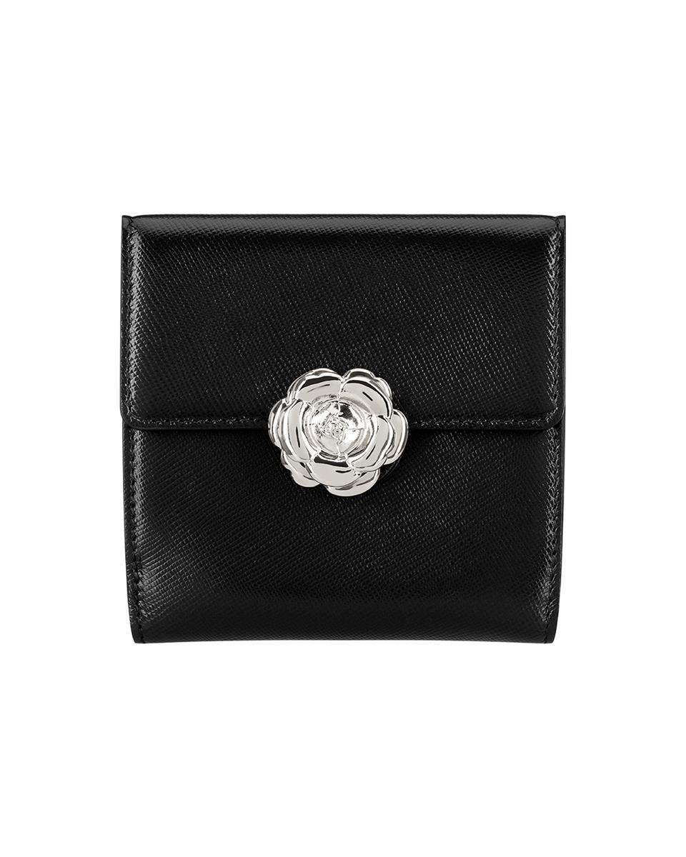 BLACK FRENCH WALLET