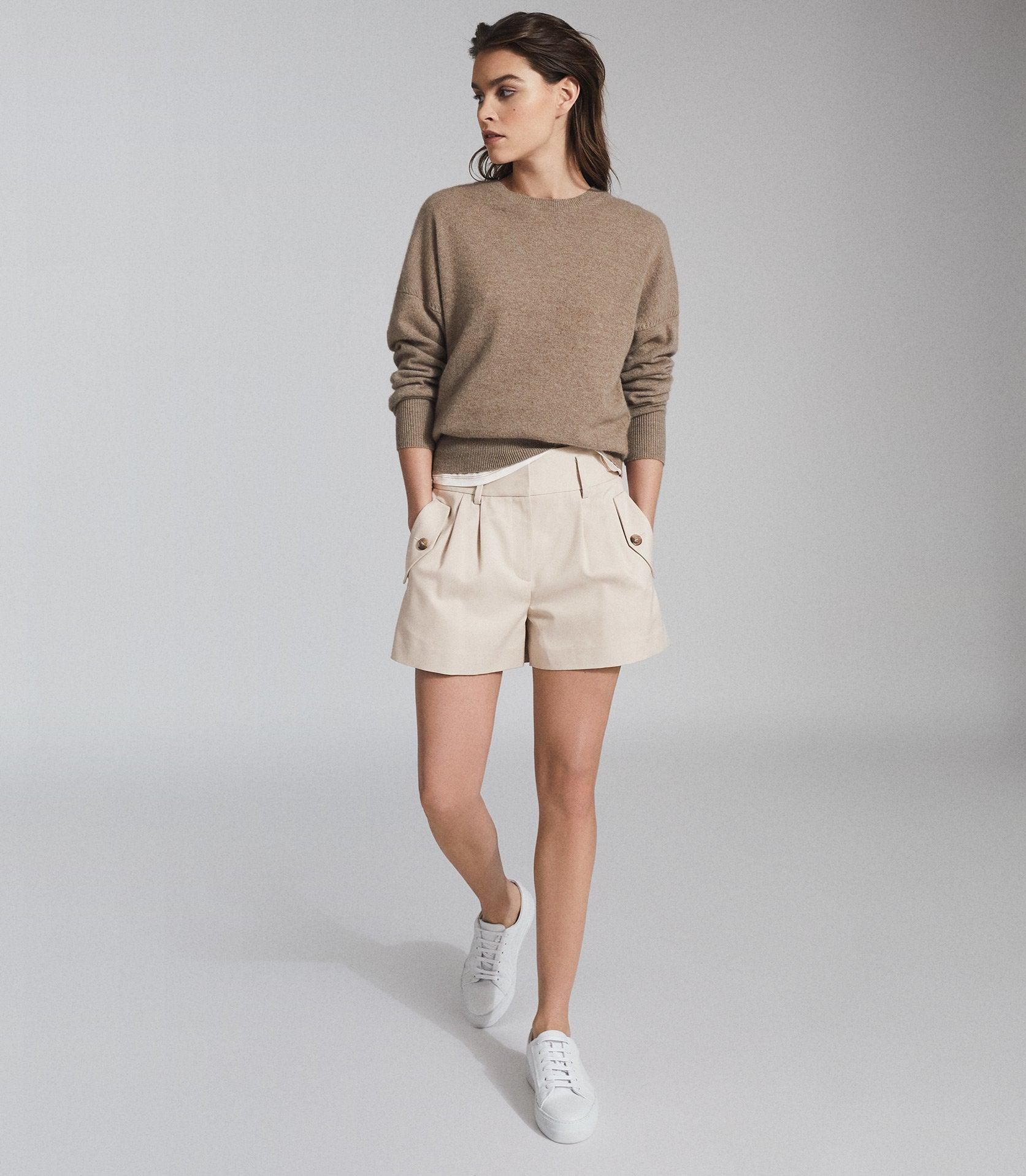 BROOKLYN - POCKET FRONT TAILORED SHORTS
