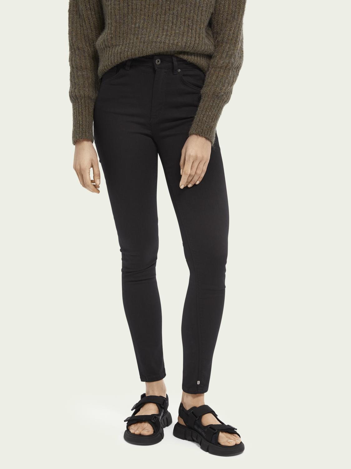 Haut - Stay Black High rise skinny fit
