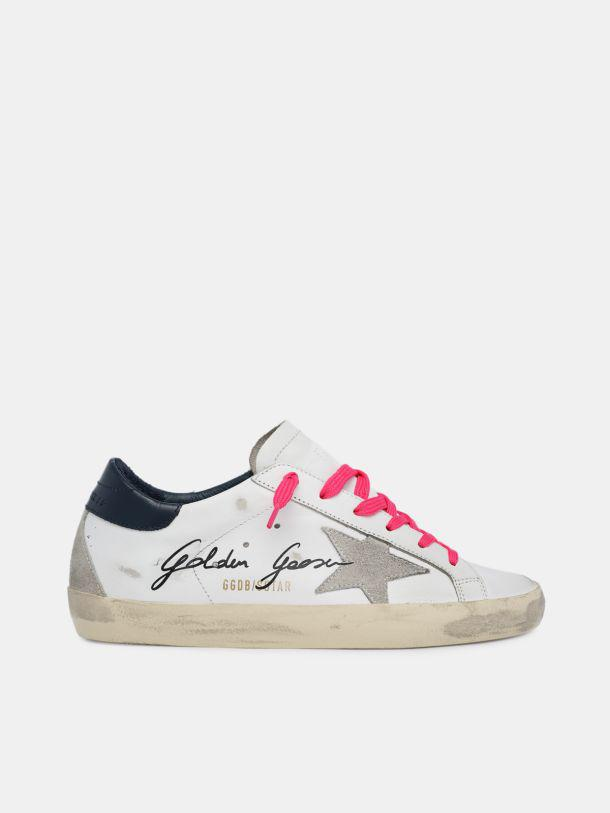Super-Star sneakers with handwritten Dreaming in Venice lettering
