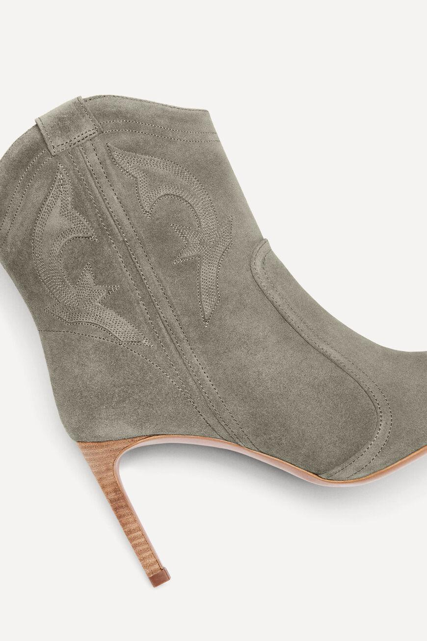caitlin.SUEDE ANKLE BOOTS 2