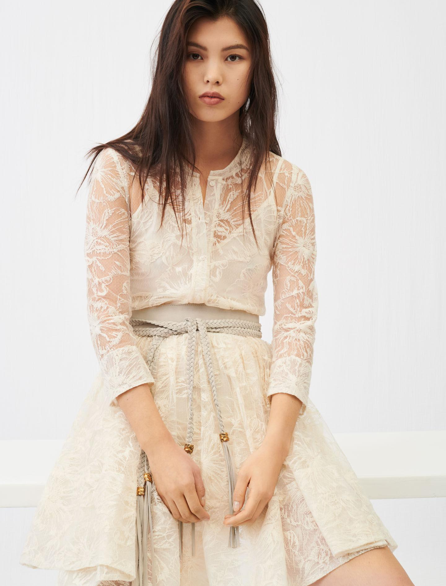 BELTED LACE DRESS 2