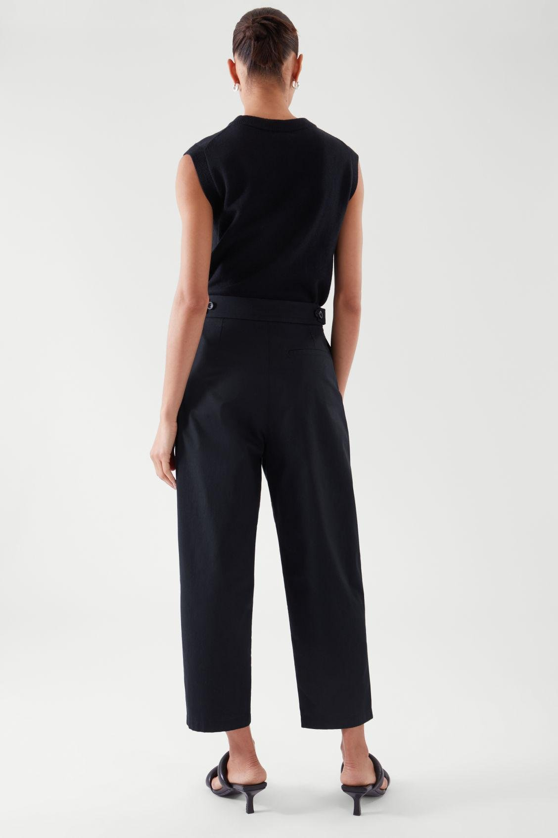 PLEATED TAPERED PANTS 2
