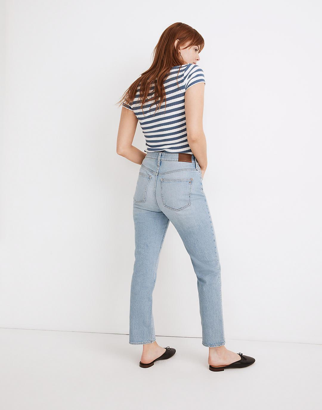 The Curvy Perfect Vintage Jean in Fiore Wash 2