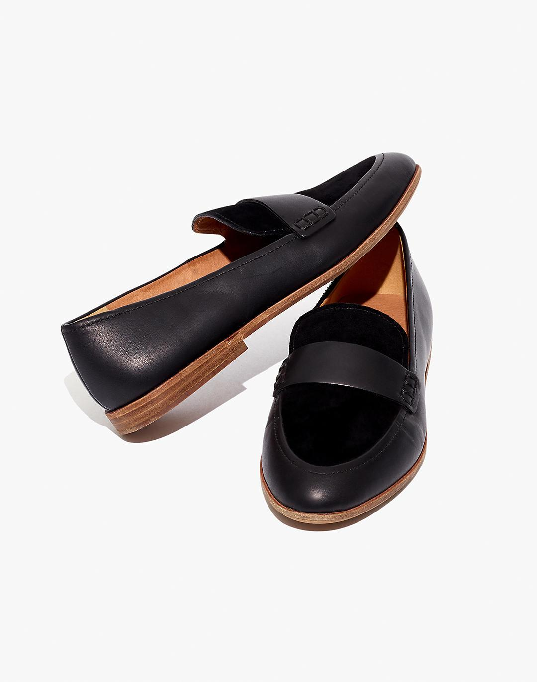 The Alex Loafer in Leather and Suede