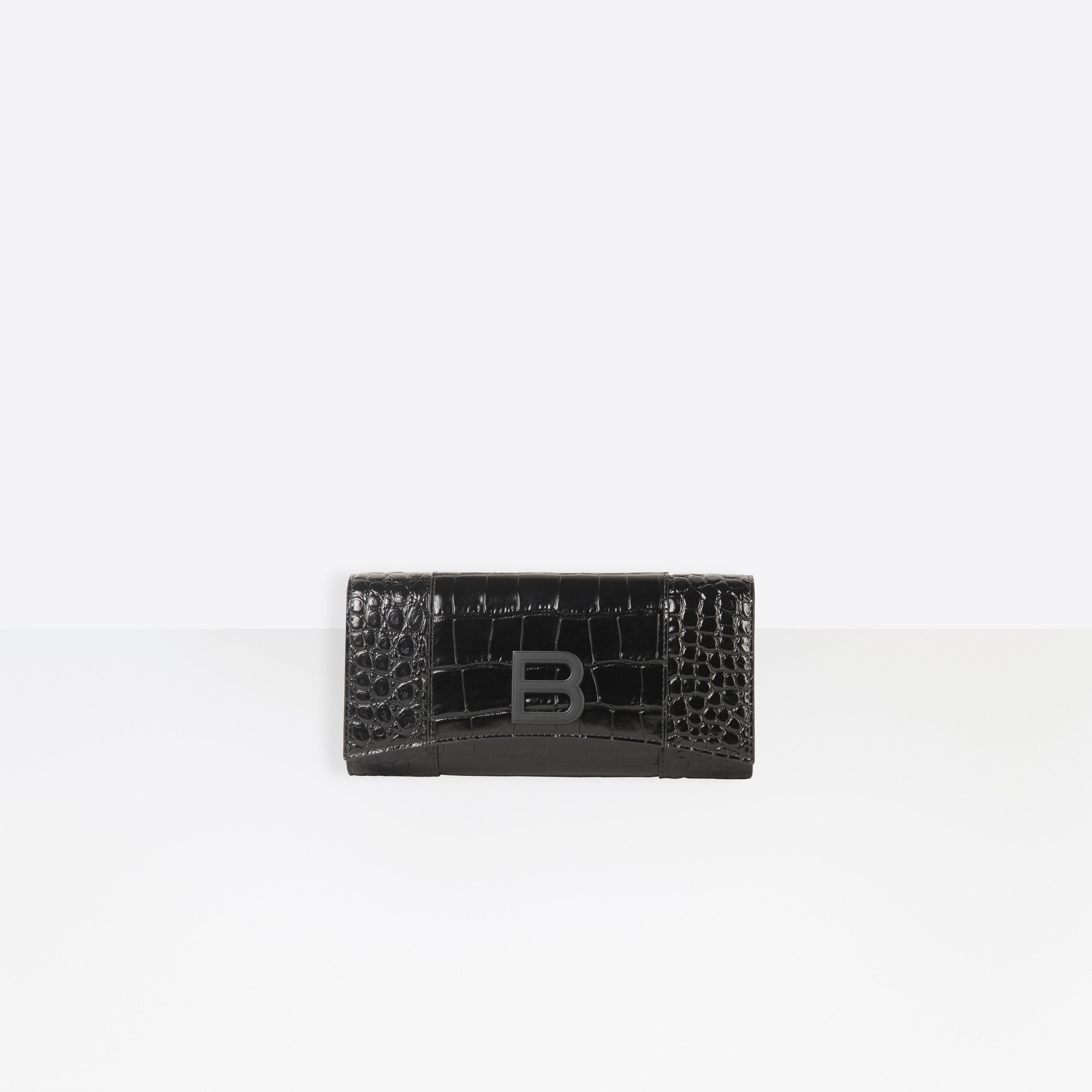 Hourglass Continental Wallet
