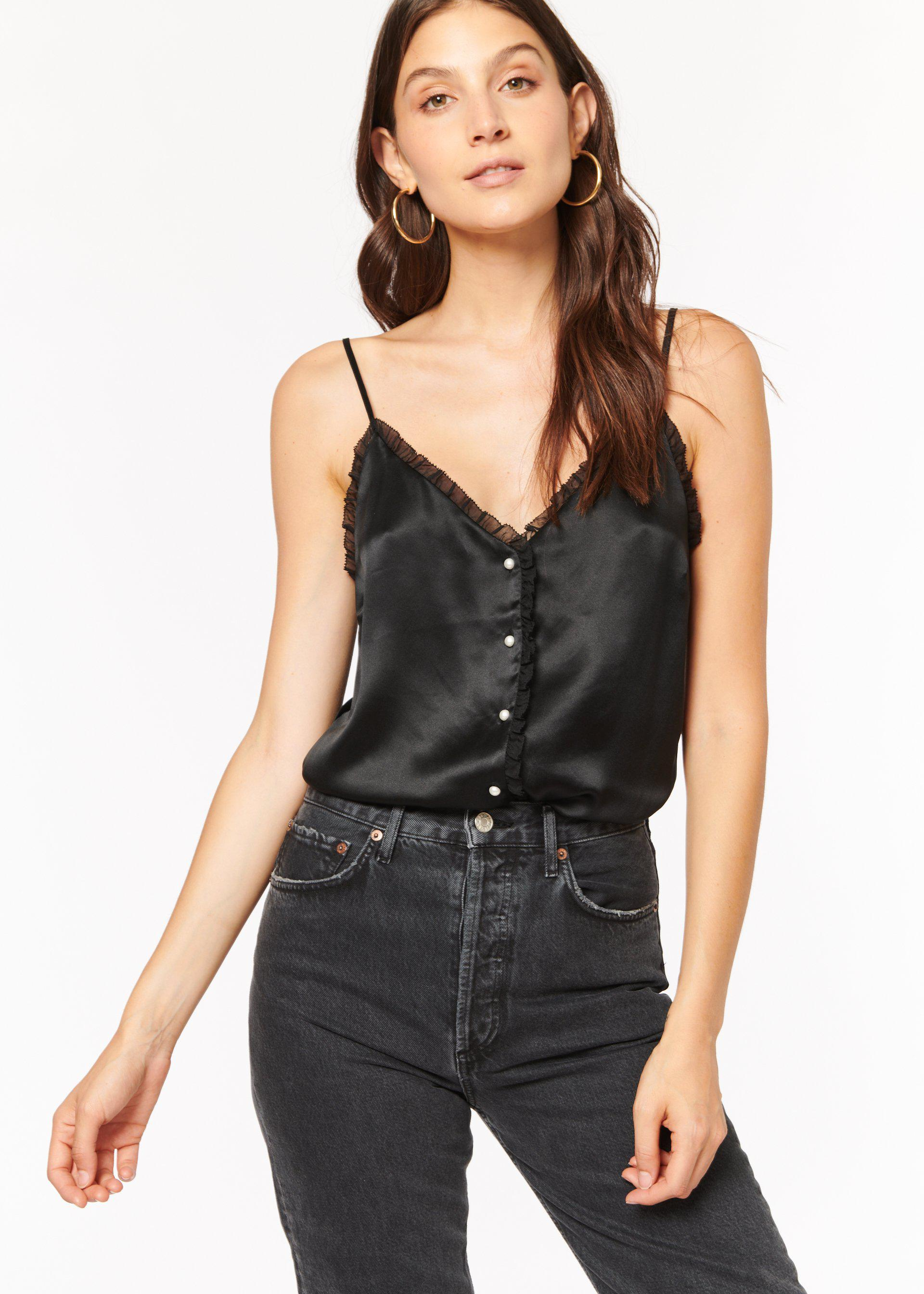 Carrie Cami Black