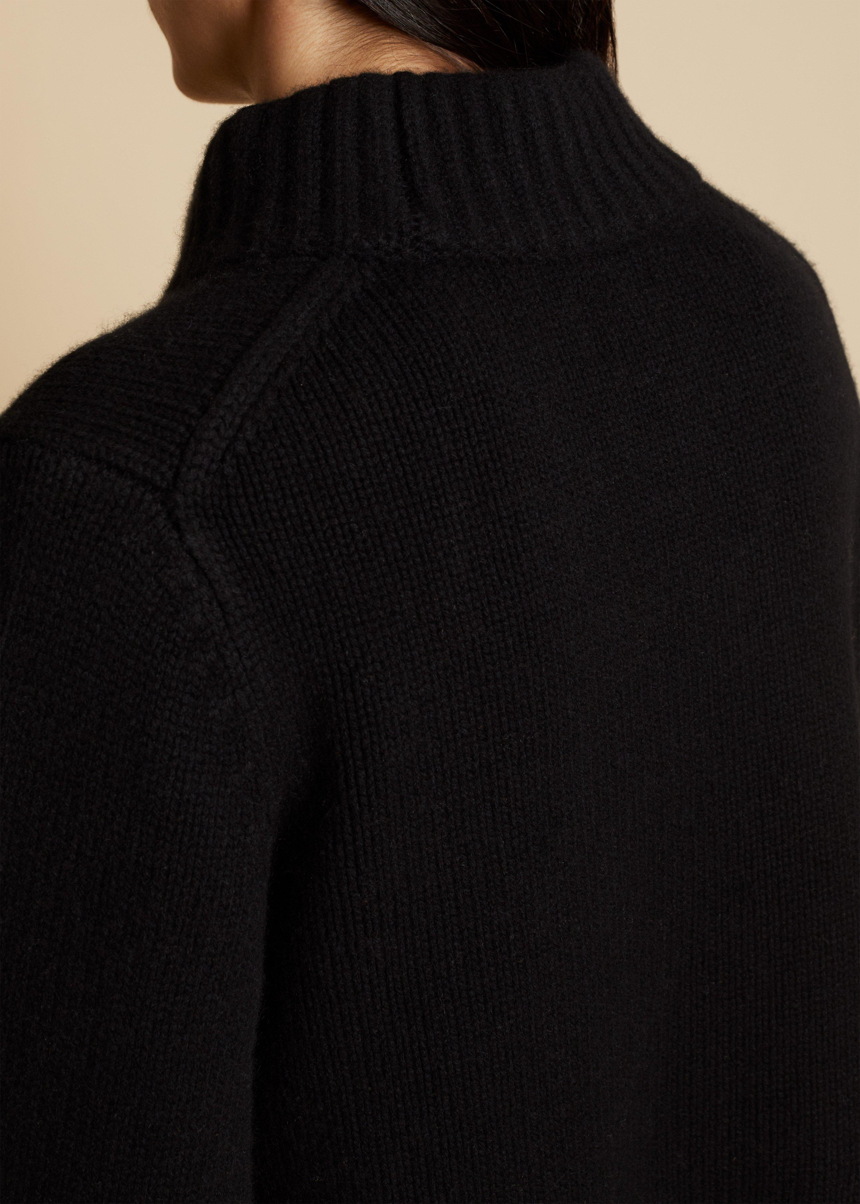 The Lima Sweater in Black 3