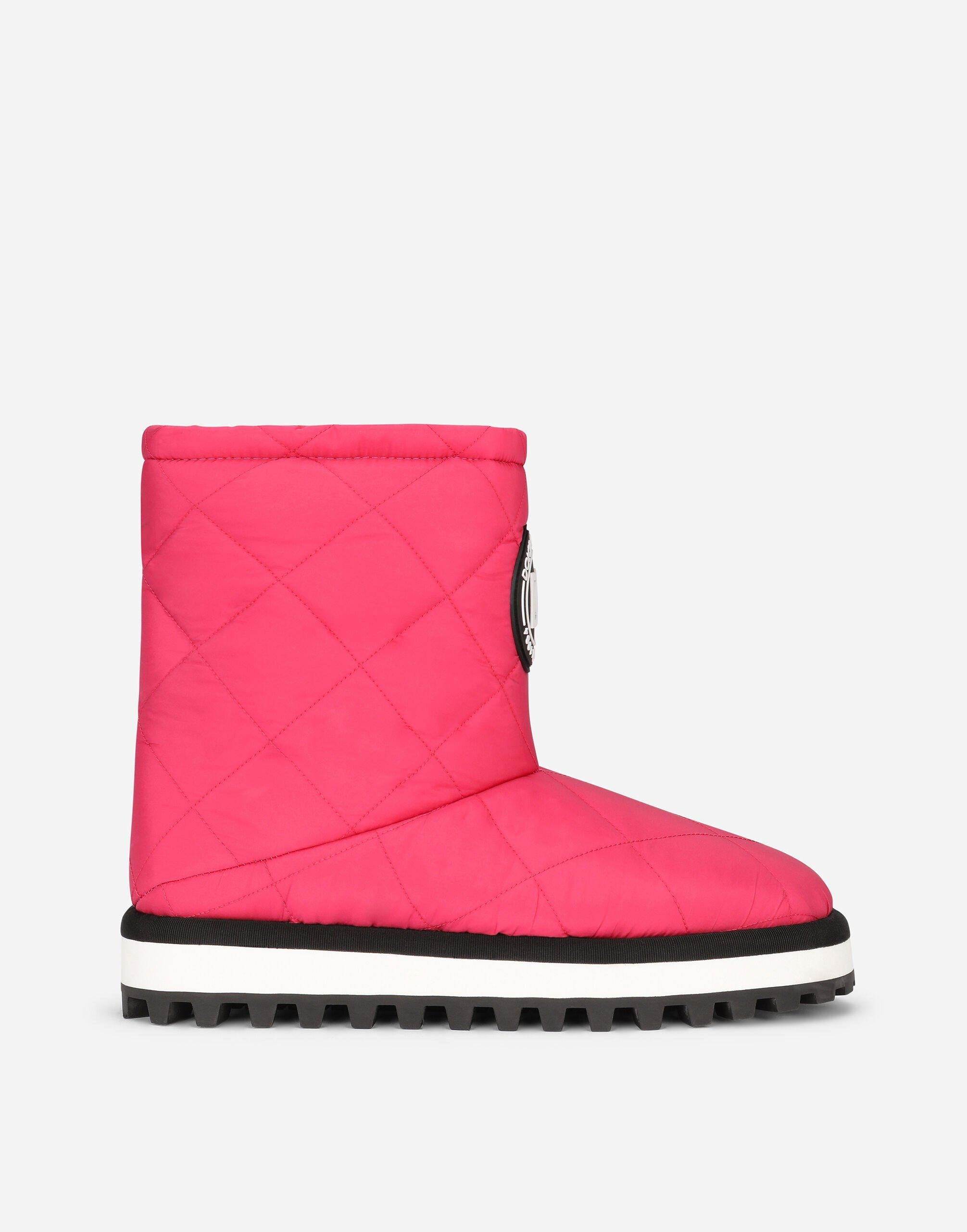 Nylon ankle boots with DG logo