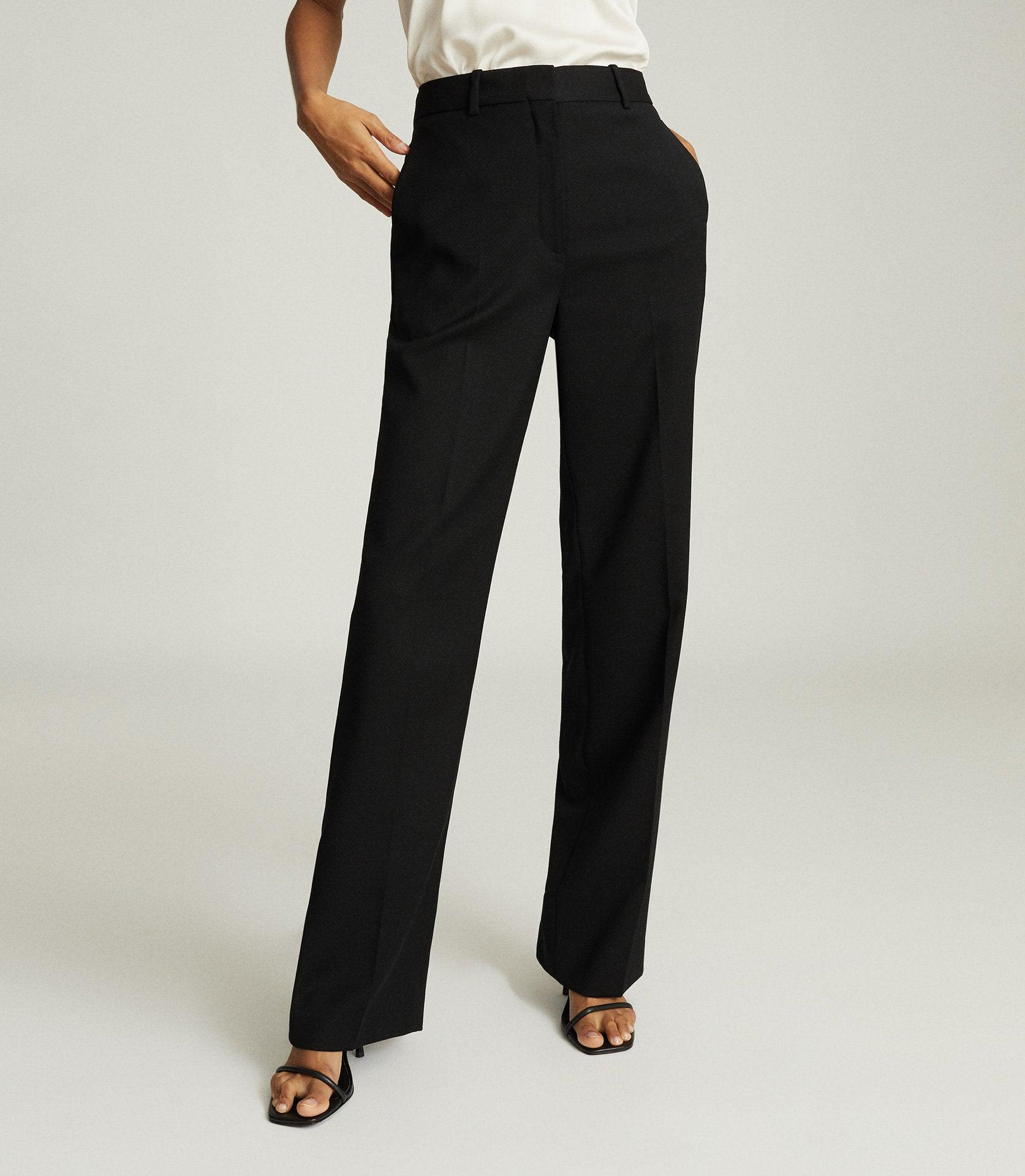 HAYES - WIDE LEG TAILORED PANTS 1