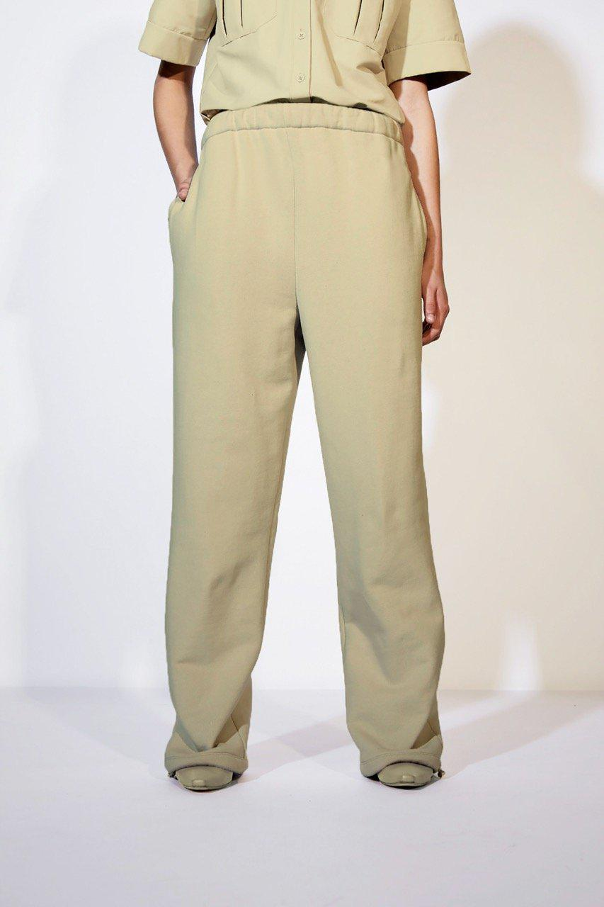 French Terry High Waisted Sweatpants 10