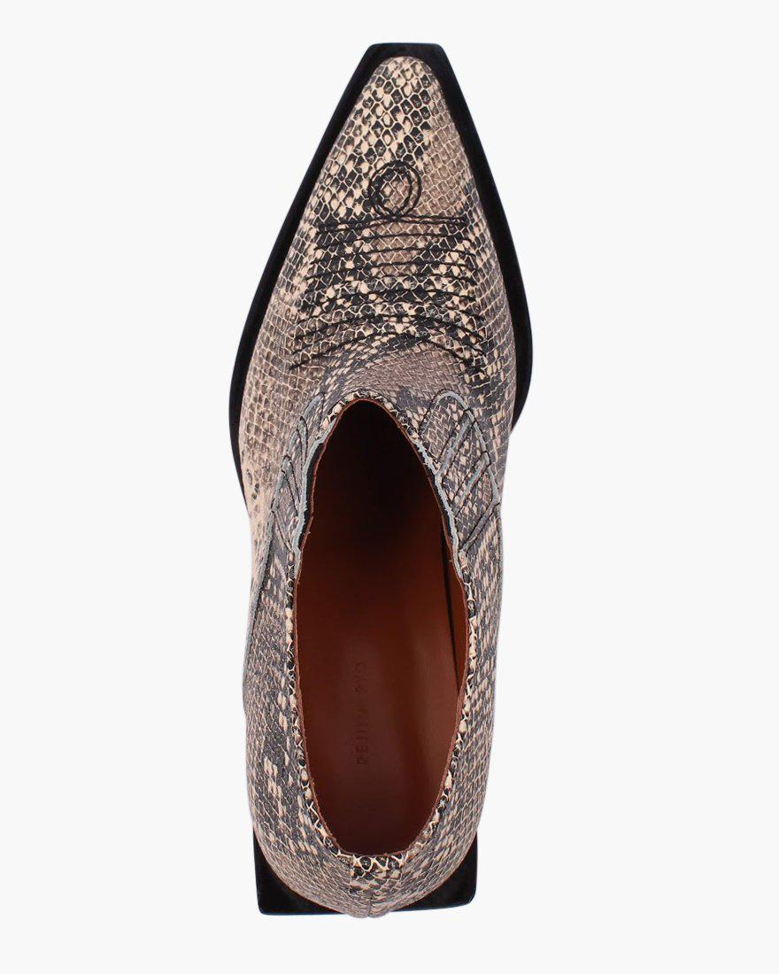 Dolores Brogues Leather Substitute Snake - SPECIAL PRICE 3