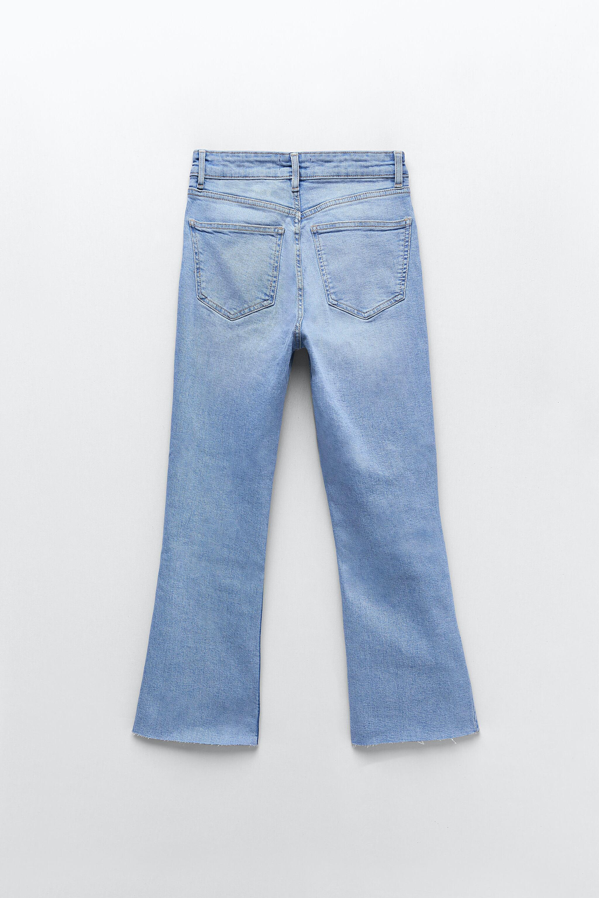 CROPPED FLARE JEANS 7