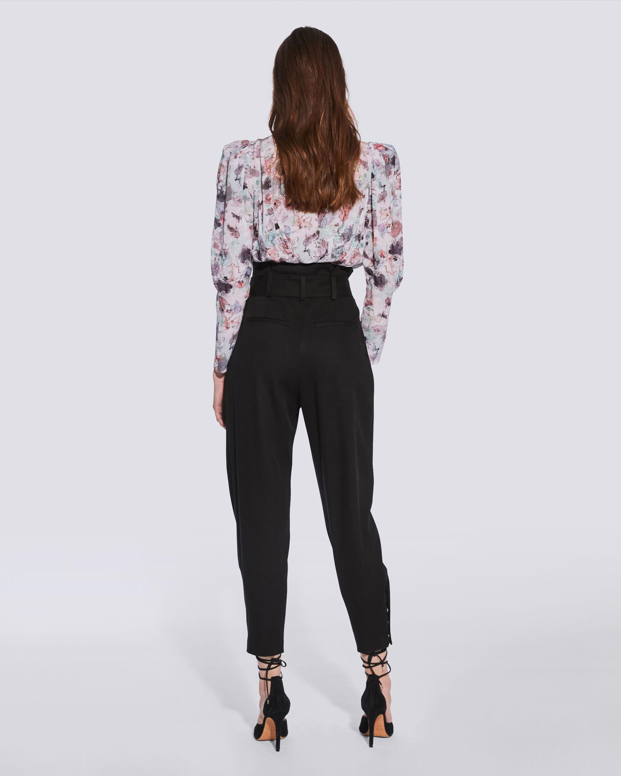 BORCIE PAPERBAG WAIST TROUSERS 3