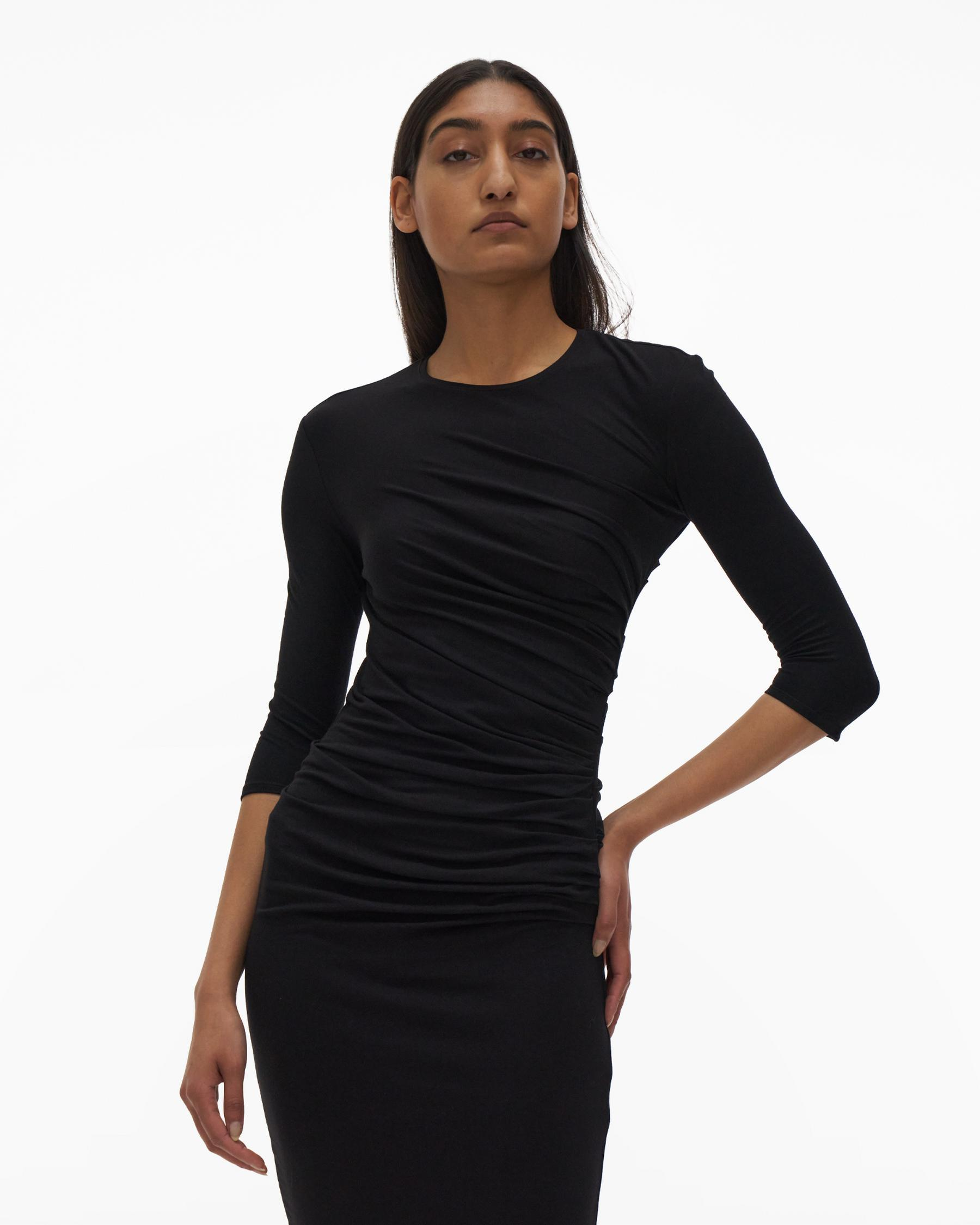RUCHED DRESS 3