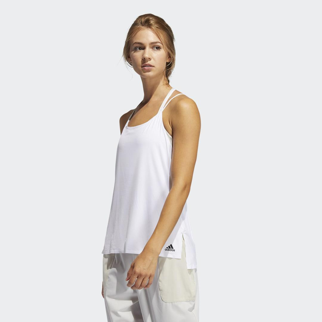 Elevated Training Tank Top White