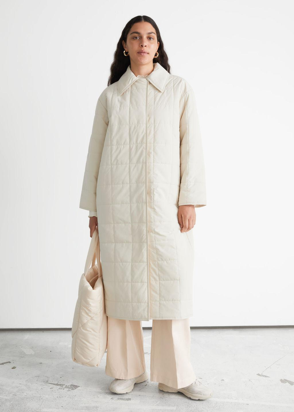 Relaxed Padded Puffer Coat