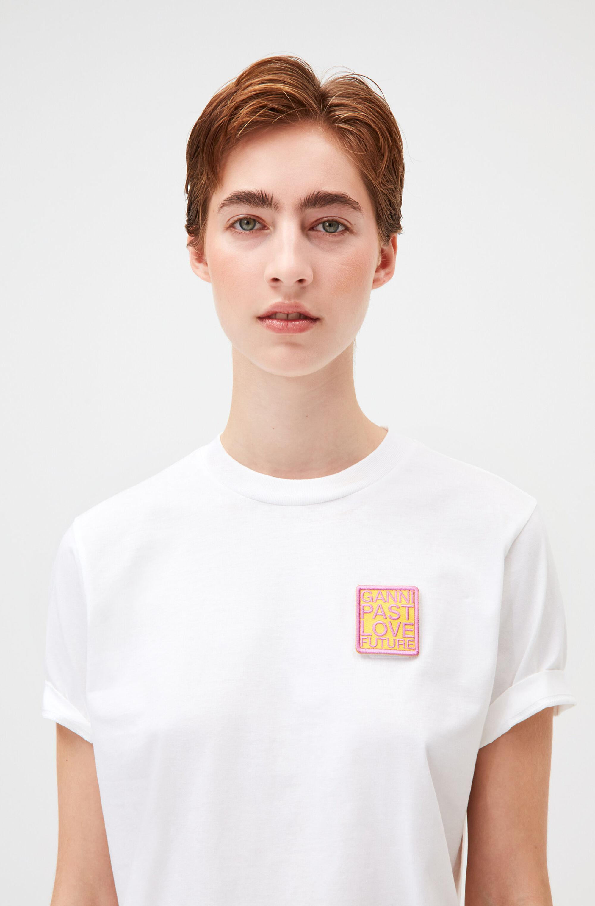 Velcro Patch Smiley Graphic Tee