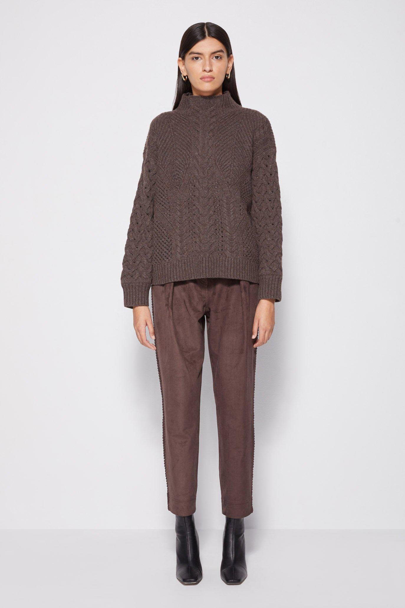 Brynlee Cable Pullover 4