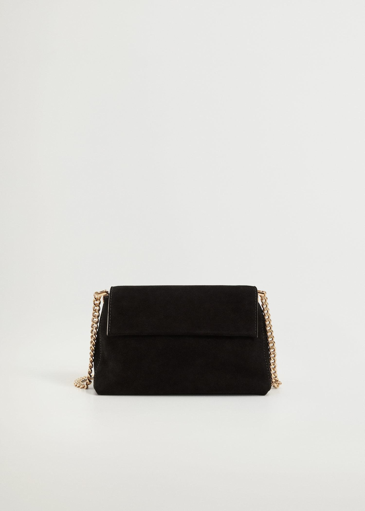 Chain leather bag