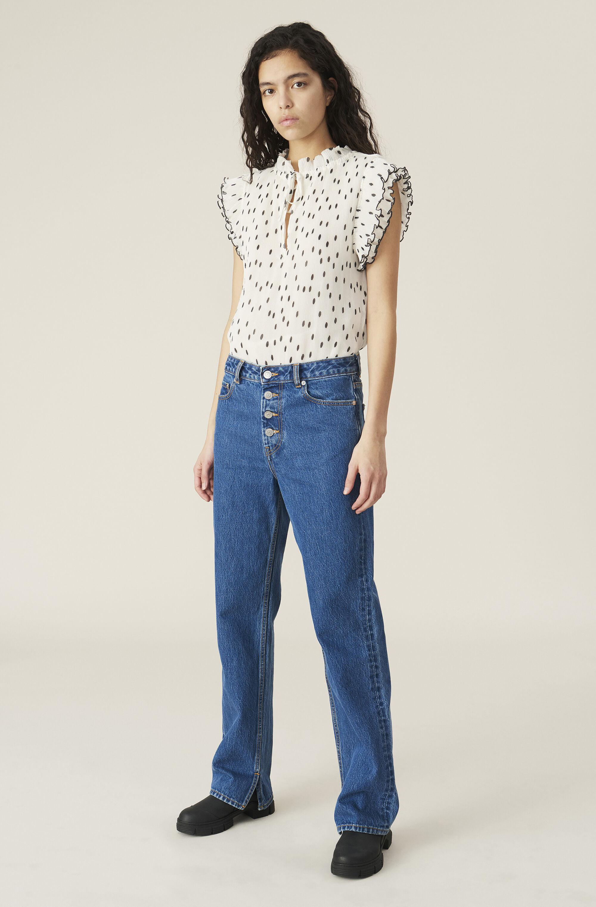 Basic Denim Relaxed Fit Jeans