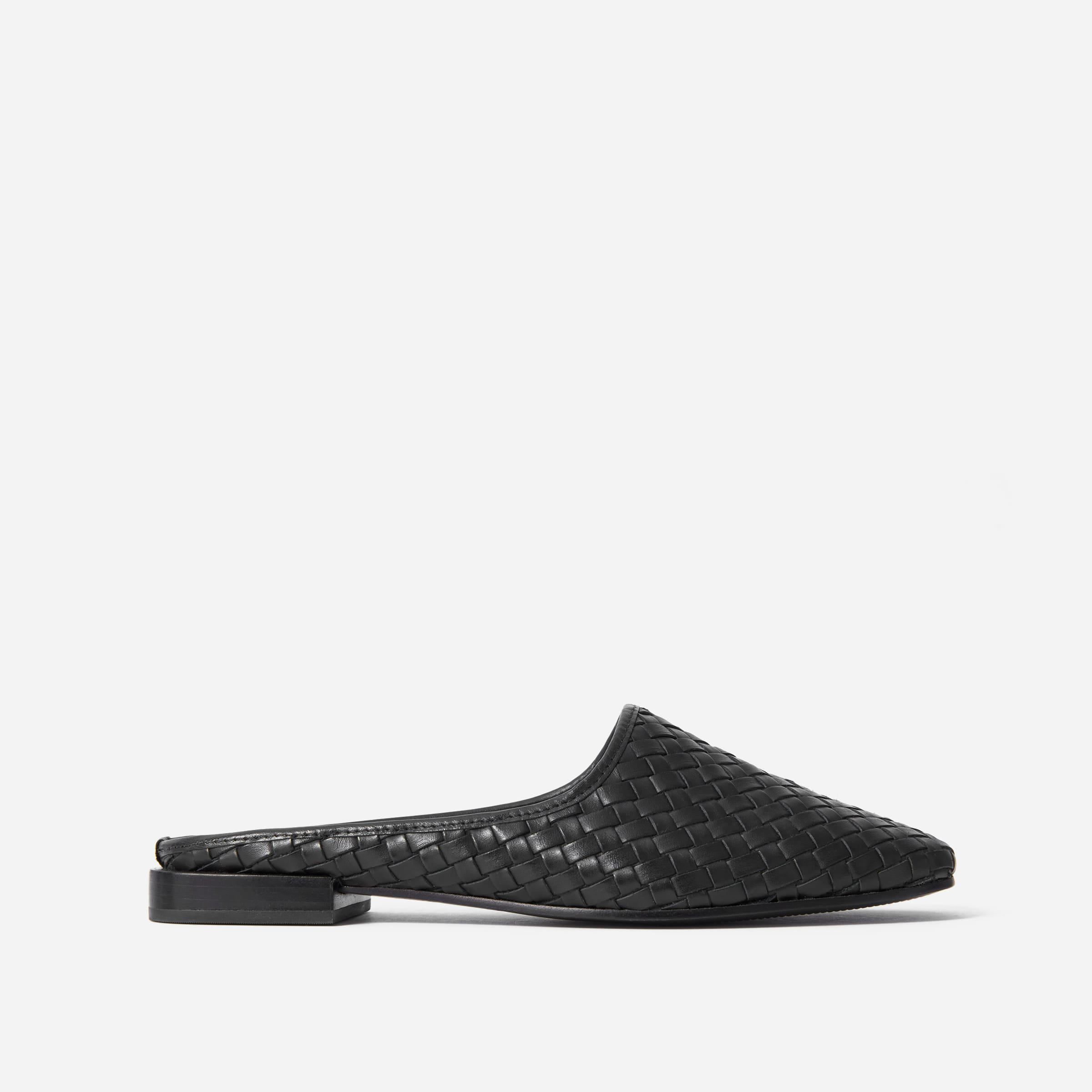 The Woven Leather Mule