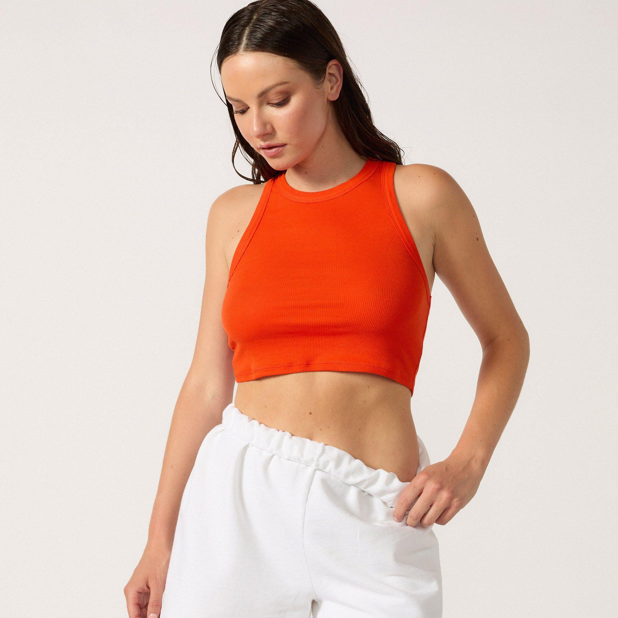 The Live-in Cropped Rib Tank